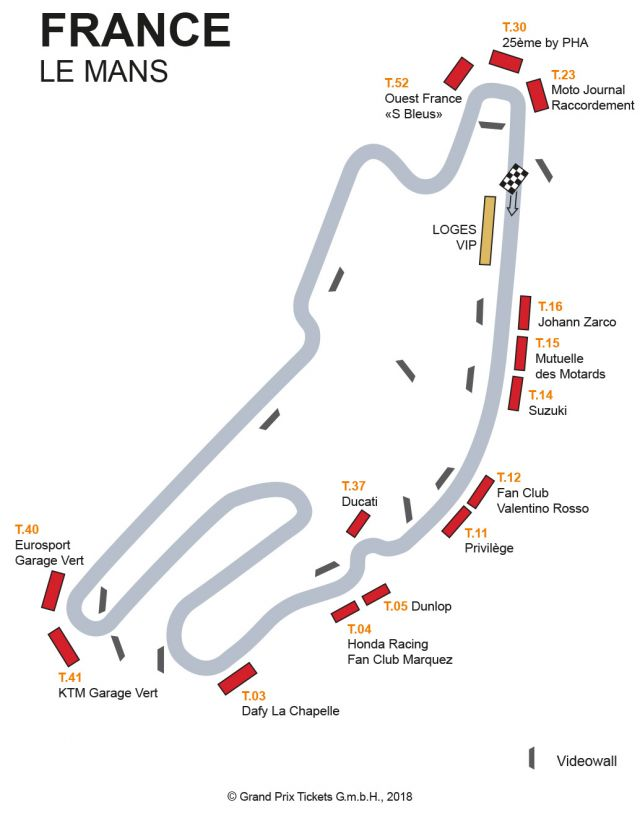 Le Mans Motogp France 2020 Hospitality Tickets And Packages